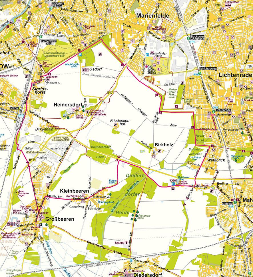 Karte Berlin Lichtenrade.Karte Berlin Lichtenrade